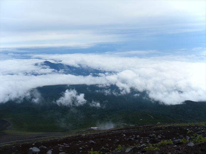 富士山登頂中1