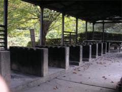 智光山公園キャンプ場のカマド
