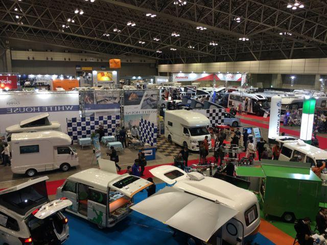 ジャパンキャンピングカーショー2020に行ってきた!夫婦旅に欲しい車ベスト3、見どころ、料金、アクセス