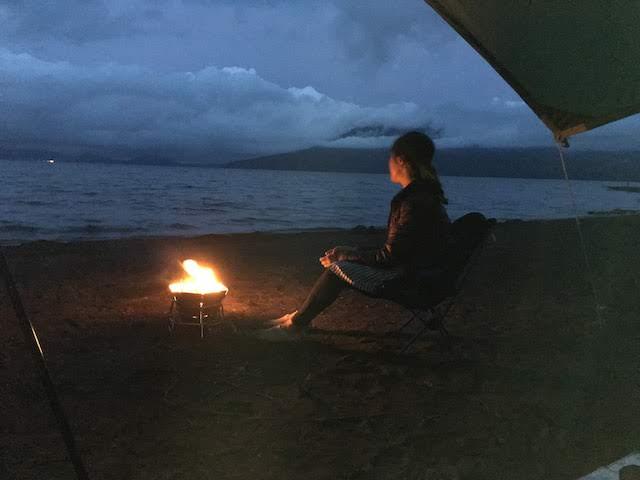 北海道支笏湖脇の美笛キャンプ場でのんびりキャンプ