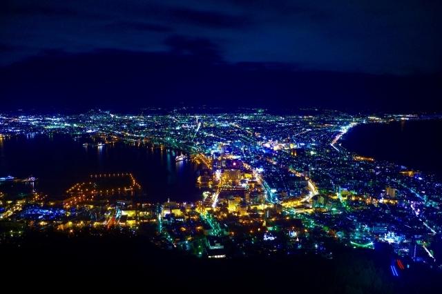 函館(はこだて)山からの夜景