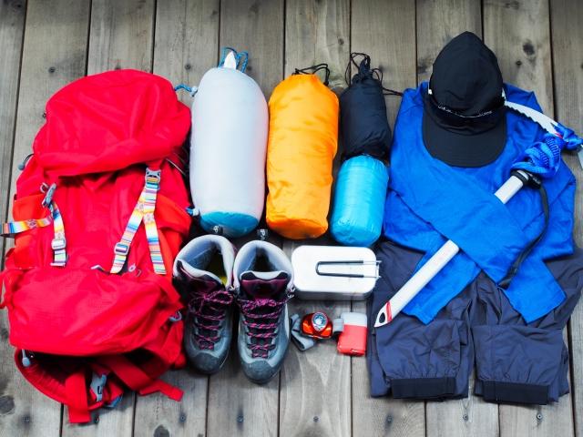 富士山の登山のための準備