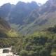 マチュピチュ村からインカレール、バスを乗継ぎクスコへ in マチュピチュ/ペルー