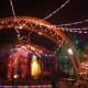 ボリビアの国境の町、ビジャソンでクリスマス in ビジャソン/ボリビア