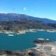 美しい湖とトランキーロ in トランキーロ/チリ