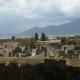 火山噴火で滅びた古代都市、ポンペイ遺跡 in ナポリ/イタリア